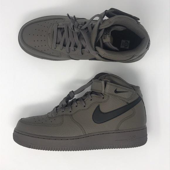Nike Shoes | Nike Air Force Mid 7 Black